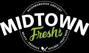A theme logo of Midtown Fresh Market